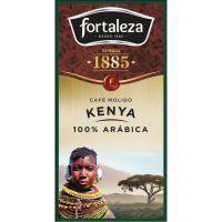 Café molido FORTALEZA G. Orígenes Kenya, caja 250 g