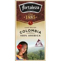 Café molido FORTALEZA G. Orígenes Colombia, caja 250 g