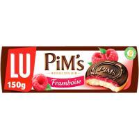 Pims de frambuesa LU, caja 150 g