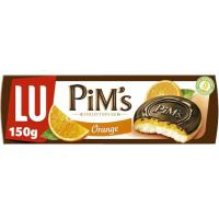 Galleta Pims de naranja LU, caja 150 g