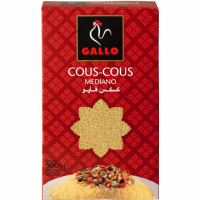 Cous cous mediano GALLO, caja 500 g