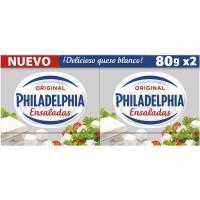 Queso para ensaladas PHILADELPHIA, pack 2x80 g