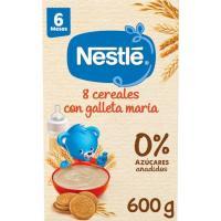 Papilla de galleta NESTLÉ, caja 600 g