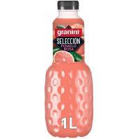 Néctar de pomelo rosa GRANINI, botella 1 litro