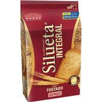 Pan tostado integral SILUETA, paquete 270 g