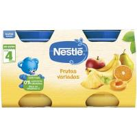 Potito de frutas variadas NESTLÉ, pack 2x130 g