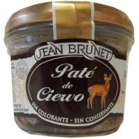 Paté de ciervo J. BRUNET, tarro 180 g