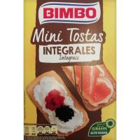 Mini tostas integrales SILUETA, caja 100 g