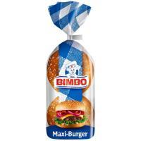 Pan hamburguesa Maxi Burguer BIMBO, 4 unid., paquete 300 g