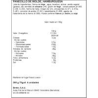 Pan hamburguesa Maxi Burguer BIMBO, 4 uds., paquete 300 g