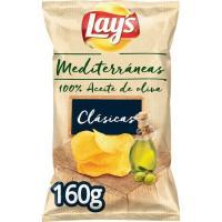 Patatas fritas con a. de oliva LAY'S Mediterráneas, bolsa 160 g