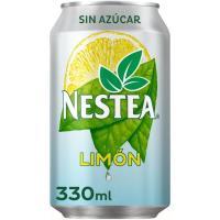 Té al limón sin azúcar NESTEA, lata 33 cl