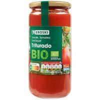 Tomate triturado ecológico EROSKI, frasco 660 g