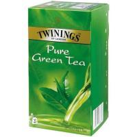 Té verde Java TWININGS, caja 25 sobres