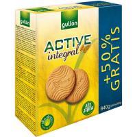 Galleta Active integral GULLÓN, caja 840 g