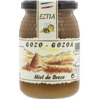 Miel de brezo GOZO-GOZOA, frasco 500 g