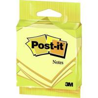 Notas adhesivas de 76x76mm, 100 hojas amarillas POST-IT