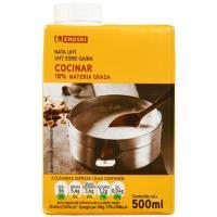 Nata para cocinar EROSKI, brik 500 ml