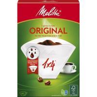 Filtro de café 1x4 MELITTA, caja 40 uds