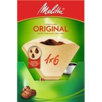 Filtro de café 1x6 MELITTA, caja 40 uds