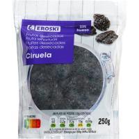 Ciruela pasa sin hueso EROSKI, bolsa 250 g