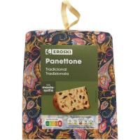 Panettone EROSKI, caja 500 g