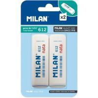 Goma de borrar nata MILAN-612, 2uds
