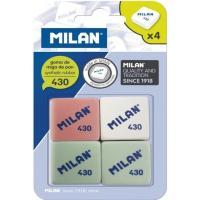 Goma de borrar MILAN-430, 4uds