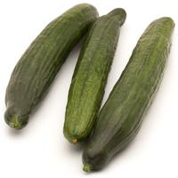 Pepino holandés, al peso, compra mínima 500 g