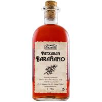 Pacharán casero BARAÑANO, botella 1 litro