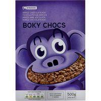 Boky Choc de arroz con chocolate EROSKI, caja 500 g