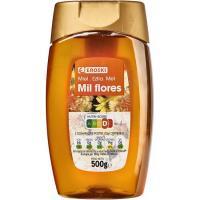 Miel de panal cero goteo EROSKI, dosificador 500 g