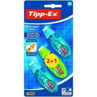 Corrector cinta micro 2+1 TIPP-EX, 3uds