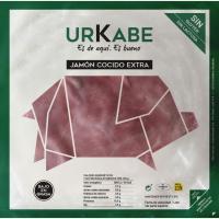 Jamón cocido artesano URKABE, sobre 200 g