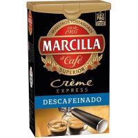 Café express mezcla descafeinado MARCILLA, click pack 250 g