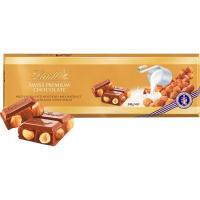 Chocolate con leche-avellana LINDT Oro, tableta 300 g