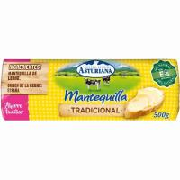 Mantequilla ASTURIANA, rulo 500 g