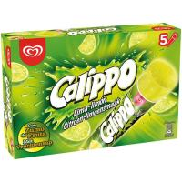 Helado Lima-limón CALIPPO,pack 5x105 ml