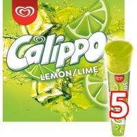 Helado de lima-limón CALIPPO, 5 uds, caja 525 g