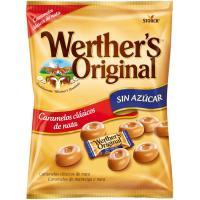 Caramelos de toffe sin azúcar WERTHER'S Original, bolsa 90 g