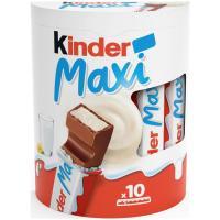 Chocolatina maxi T10 KINDER, caja 210 g