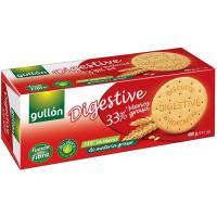 Galleta digestiva 33% grasa GULLÓN Diet, caja 400 g