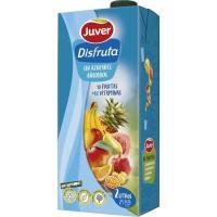 Néctar 10 frutas sin azúcar 10 vitaminas DISFRUTA, brik 2 litros