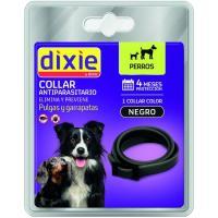 Collar negro insecticida para perro DIXIE, pack 1 ud.