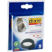 Collar negro insecticida para gato DIXIE, pack 1 ud.