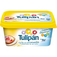 Margarina con sal TULIPÁN, tarrina 500 g