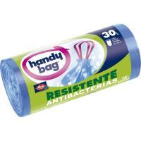 Bolsa de basura antibact. 30 l. HANDY BAG, paquete 15 unid.