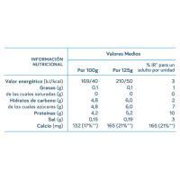 Yogur desnatado de piña DANONE Vitalínea, pack 4x120 g
