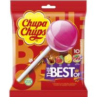 Caramelos de palo CHUPA CHUPS, 10 uds., bolsa 120 g