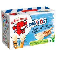 Palitos de queso LA VACA QUE RIE, 4 uds., caja 140 g